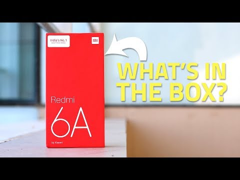Xiaomi Redmi 6A Unboxing And First Look | What Can Xiaomi Possibly Bundle At This Price?