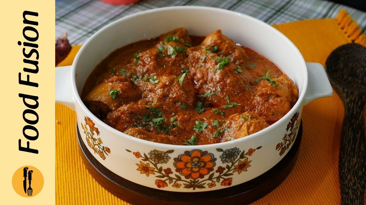 Chicken Masala Curry Recipe By Food Fusion