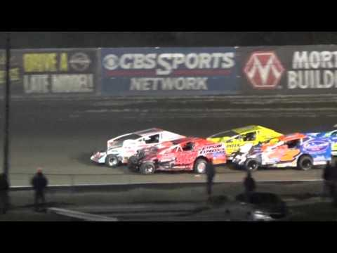 Volusia Speedway Park Dirtcar Nationals Big Block Modified Highlights February 18 2016