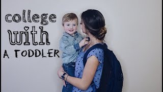 Day in the Life of a Teen Mom : COLLEGE