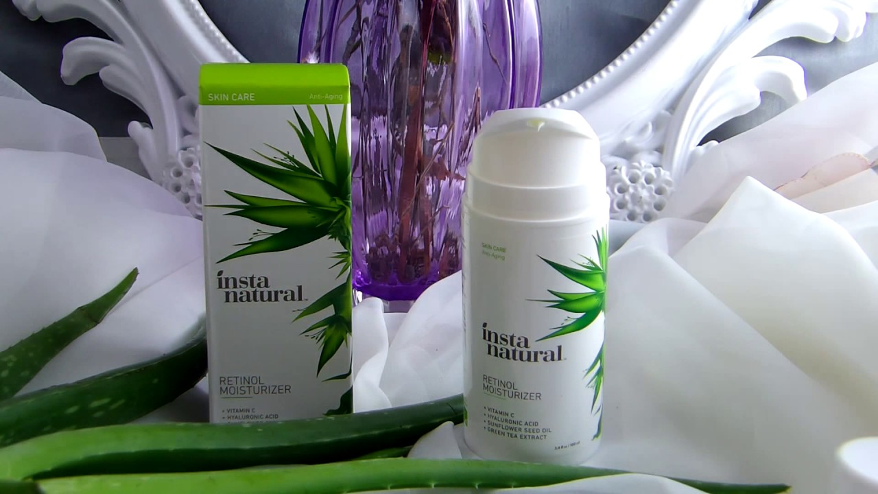 Retinol amounts in moisturizers - Instanatural Retinol Moisturizer Anti Aging Cream