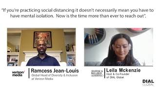 Diverse & Inclusive Leaders Podcast #59 - Ramcess Jean-Lewis, Head of D&I, Verizon Media (Preview)