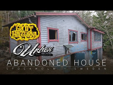 ABANDONED HOUSE in Stockholm - Urbex Urban Exploration Sweden 2017