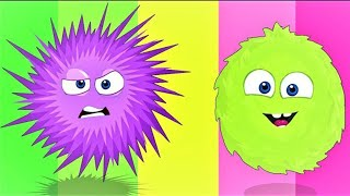 Op and Bob | Fluffy and Spiky | Funny Cartoons For Children
