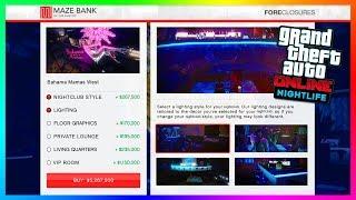 GTA Online's Hidden Nightclub Features, Secret Bahama Mama's Heist Mission & MORE! (GTA 5 Nightlife)