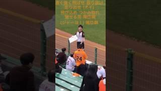 2017年3月10日 金 ほっともっとフィールド神戸 巨人対オリックス オープン戦 陽岱鋼選手 応援歌 歌詞付き