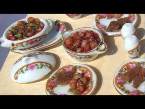 Miniature Dollhouse Food 2
