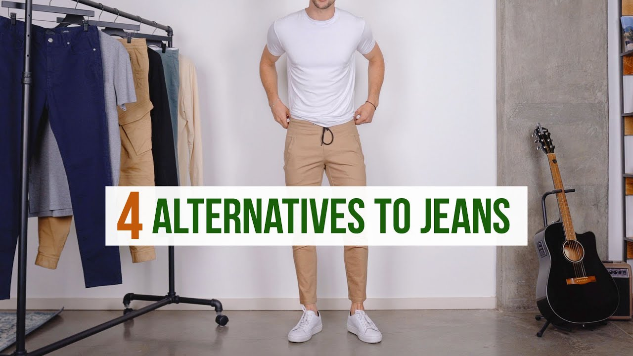 4 Best Casual Pants for Men | Jeans Alternatives | Men's Fashion Joggers, Chinos, Etc. 6