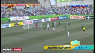 خلاصه بازی: ایران ۳-۳ عراق