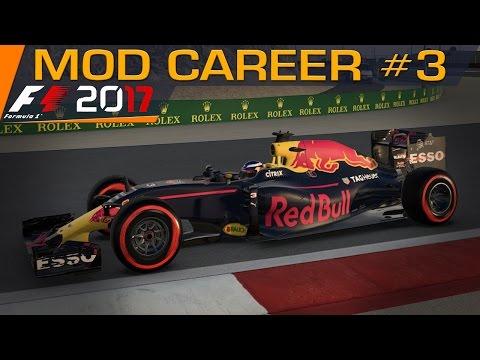 F1 2017 Season Mod Career Part 3 | Bahrain Grand Prix LIVE