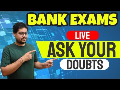 LIVE SESSION ON YOUR DOUBTS (20 MAY) || BANK EXAMS 2021 || ANKUSH LAMBA