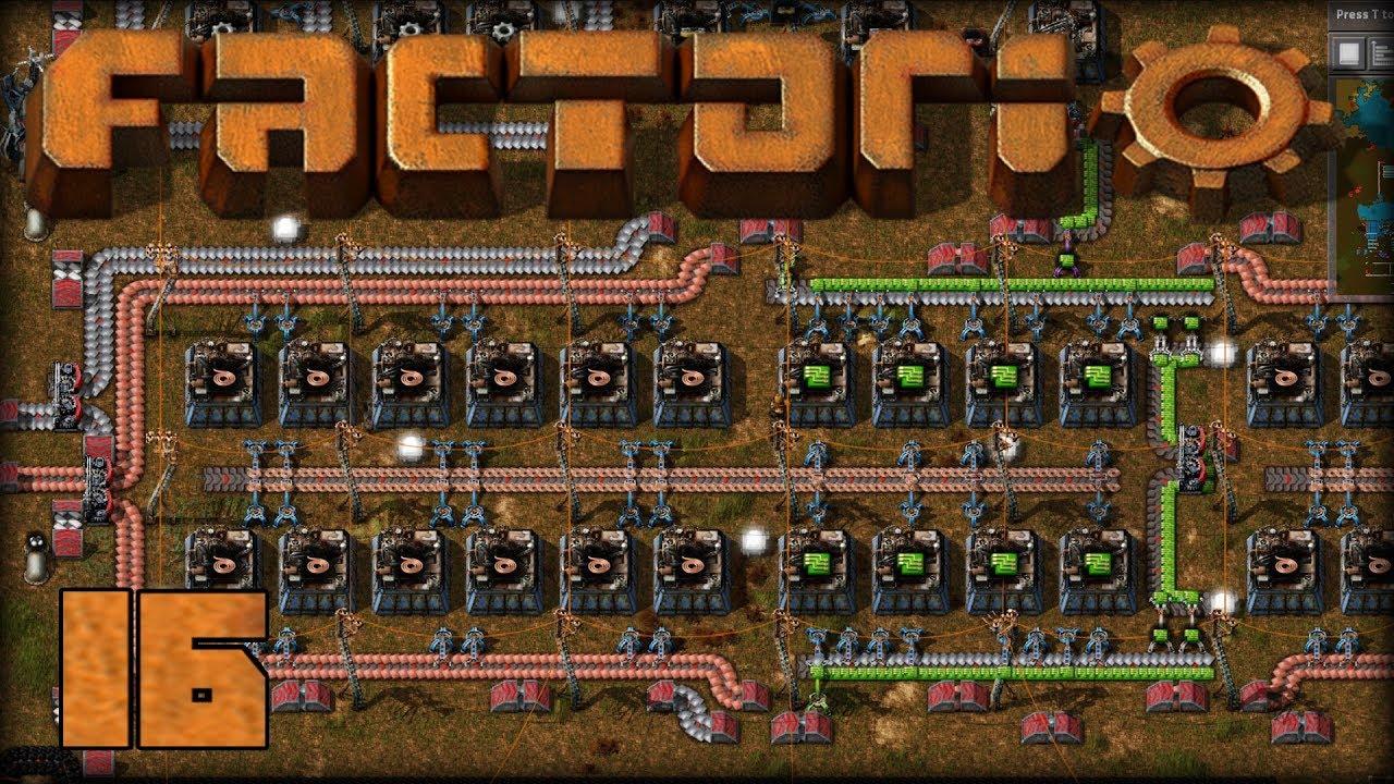 factorio e16 electronic circuits for the main bus youtubefactorio e16 electronic circuits for the main bus