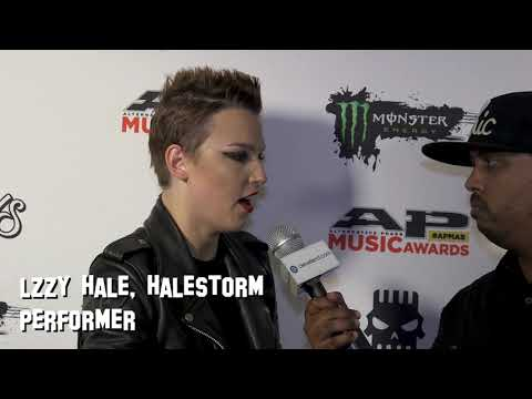 Lzzy Hale shares her thoughts on the rock community on the APMAs red carpet