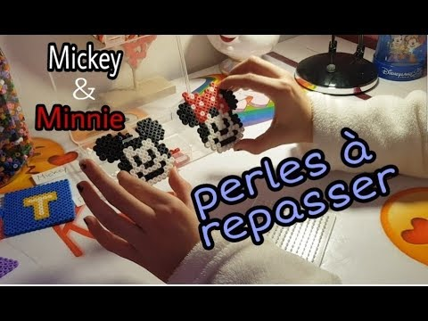 Tuto Perles A Repasser Mickey Minnie Youtube