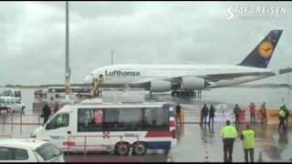 Gambar cover STAFA REISEN Video: Airbus A380 der Lufthansa erstmals in Wien