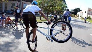 1º Encontro de Wheeling Bike em Limeira - SP (Manobras de bicicleta)