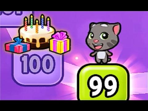 Мой говорящий том #216 Том и друзья Мой виртуальный питомец ИГРА на андроид  # Мобильные игры - Как поздравить с Днем Рождения