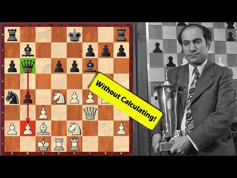 No Way! Mikhail Tal Goes For A Sacrifice Without Any Calculations
