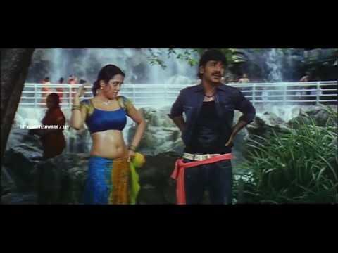 Actress Meenakshi Comedy Scene || Rajadhi Raja Movie || Sri Venkateswara Movies