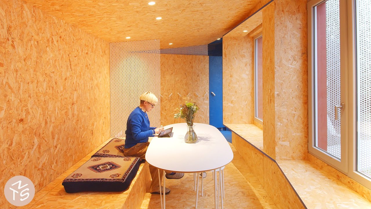 NEVER TOO SMALL 25sqm/270sqft Multifunctional Conversion - Urban Cabin
