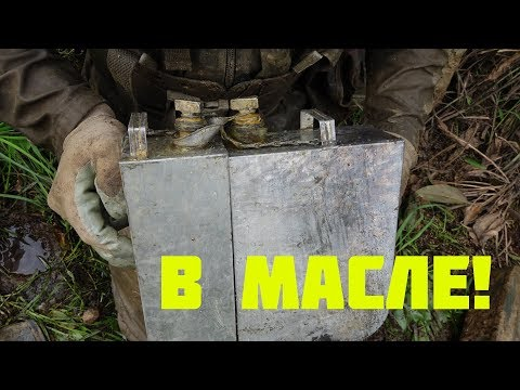 Found a machine gun warehouse in the Iron River metal detector and search magnet