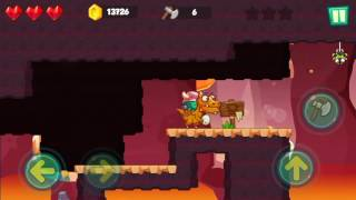 Jungle Adventures: Super World - Lava Plains Level 12... Gameplay (Free Game On Android)