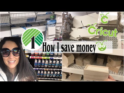 DOLLAR TREE SHOP WITH ME|How to save money on craft supplies