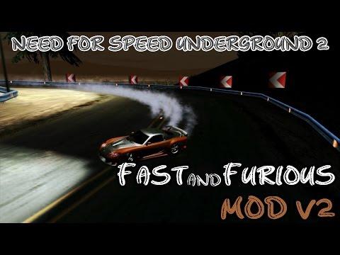 NFS Underground 2 - Fast & Furious MOD v2 (DOWNLOAD)