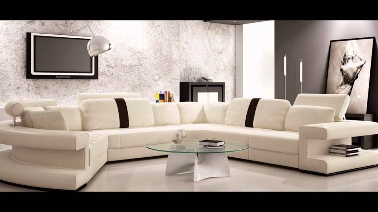 Sedari moderne bois decoration du monde 2015 youtube for Living salon moderne