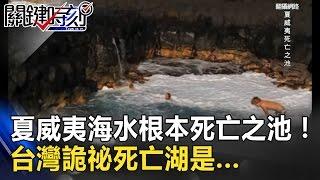 一秒漲退潮!夏威夷湛藍海水根本死亡之池!台灣詭祕死亡湖是... 關鍵時刻 20170324-7 王瑞德