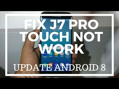 Samsung J7 Pro J730G Touch Screen Problem Solution - Touch Fix File