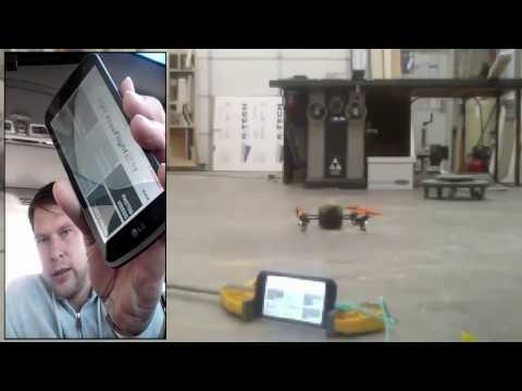 Flying AR drone 2.0 over Cellular Data Network 70 MILES AWAY!!!!