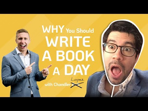 "Tai Lopez Parody ""Here In My Garage"" - Why You Should WRITE A BOOK A DAY"