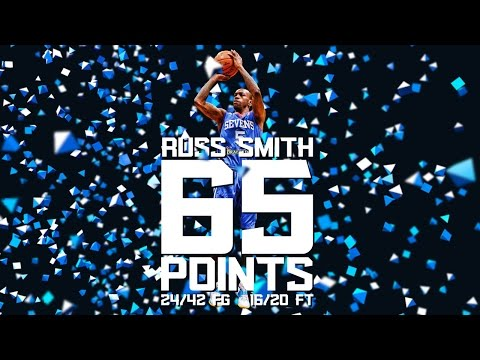 Every bucket from Smith's record 65-point game on YouTube