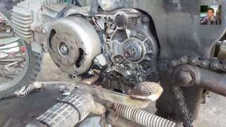 Cara Mengganti Seal Gear Depan Pada Motor Honda - Cara Bongkar Pasang Seal Gear Yang Benar