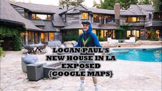 Logan Paul's  New House In Hollywood Found In Google Maps.