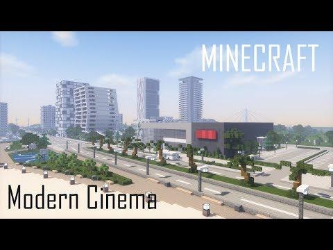 minecraft-modern-cinema-(full-interior)-+-download