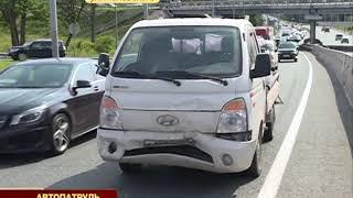 Экстренное торможение не помогло избежать столкновения двух авто на Седанке