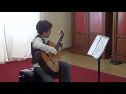 Adriano Pauselli, chitarra - Giovani Musici 2013