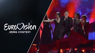 Knez - Adio (Montenegro) - LIVE at Eurovision 2015: Semi-Final 2