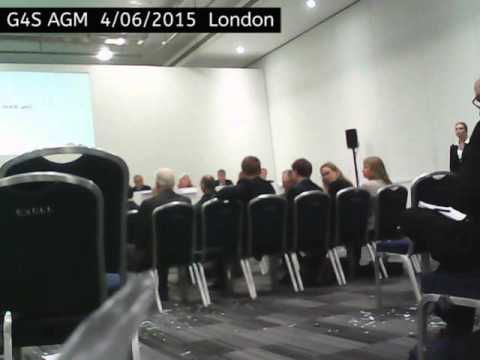 G4S AGM DISRUPTION