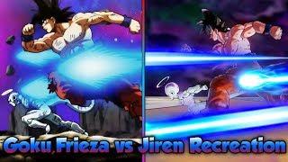 Goku, Frieza, and 17 vs Jiren! Reenacting Epic Fights! - Dragon Ball Xenoverse 2
