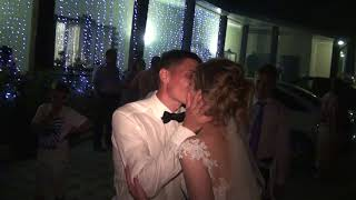 Красивый финал свадьбы, ведущая Елена Волкова