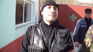 Захват воинской части в Крыму неизвестными людьми 03.03.2014