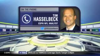 Tim Hasselbeck on the Jets and Bears matchup - The Michael Kay Show