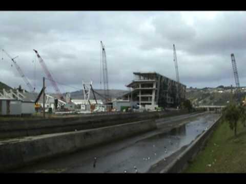 New Dunedin Stadium remoscope