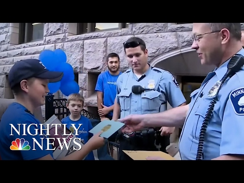Minnesota Boy Uses Make-A-Wish to Feed Hospital That Saved Him | NBC Nightly News