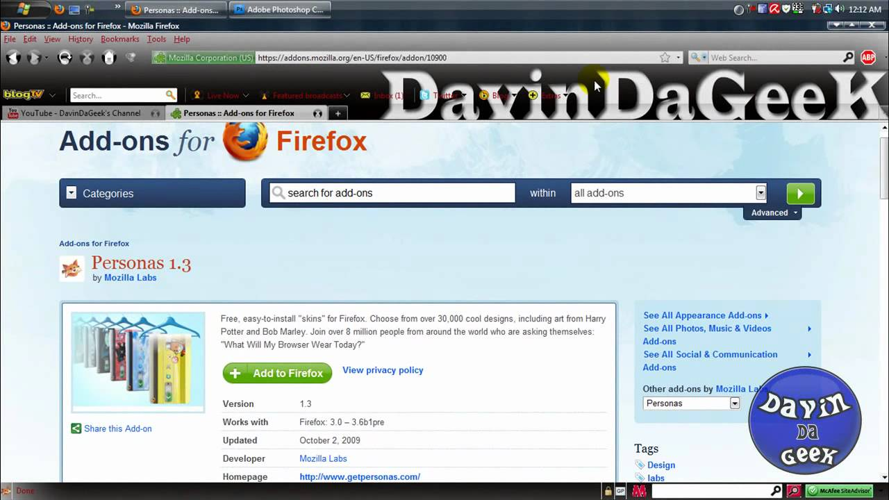 How to create your own custom theme easily for Mozilla Firefox  browser(Tutorial)