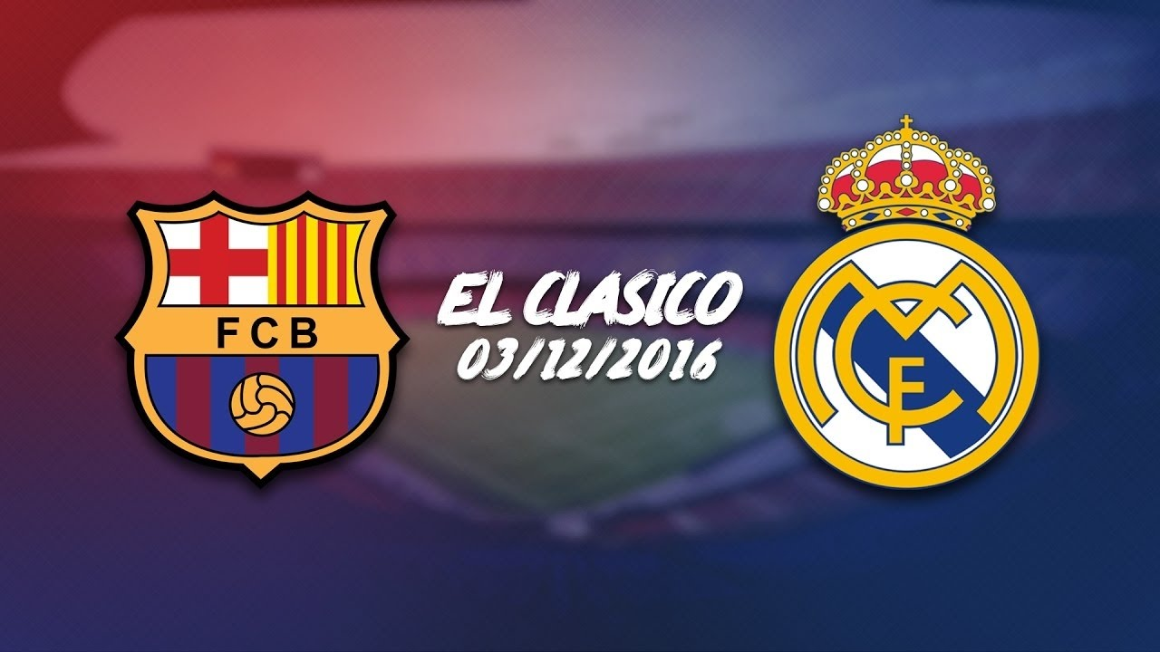 Download Highlights FC Barcelona 1 vs 1 Real Madrid - El Clásico 03/12/2016 HD