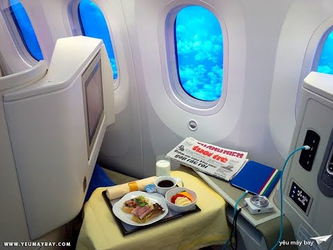 Vietnam Airlines Business Class (SGN-HAN) Boeing 787-9 Dreamliner